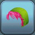 FEMALE SHORT HAIR BEANIE (PINK)