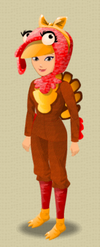 FEMALE OUTFIT (LOL TURKEY SUIT)