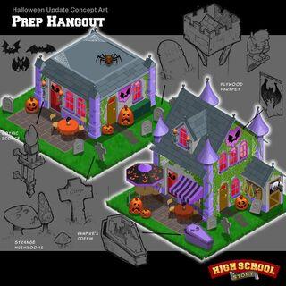 Halloween Prep Hangout