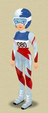 FEMALE OUTFIT (WINTER SPEED STAR)