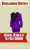 EXCLUSIVE MALE OUTFIT SIGN (DANCE THE NIGHT AWAY)