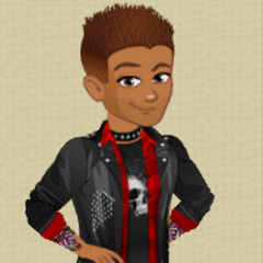 Male Level 10 Punk Rock Outfit