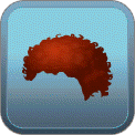 SHORT 'FRO (RED)