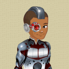 Cyborg Nishan Makeover Outfit