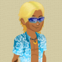 Male Level 10 Surfer Outfit