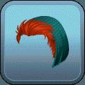 MALE SHORT HAIR BEANIE (RED)