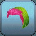MALE SHORT HAIR BEANIE (PINK)
