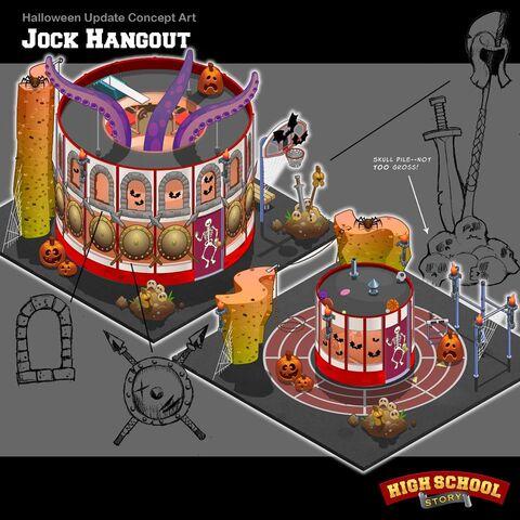 Halloween Jock Hangout