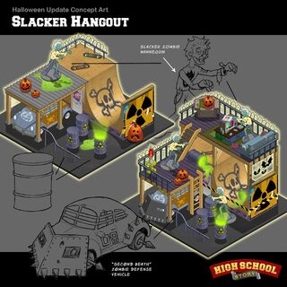 Halloween Slacker Hangout