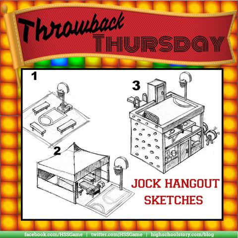 Jock Hangout sketches