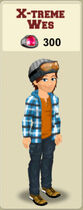 WES MAKEOVER SIGN (X-TREME WES OUTFIT)