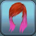 PUNK PINK DIP-DYE (RED)