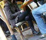 Stiletto sitting