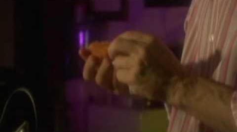 RICK ROSNER eats a chicken sandwich ..... a j.d. mata art house film