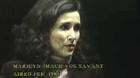 Marilyn Mach Vos Savant - Feb. 1986 Air date
