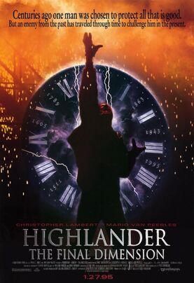 Highlander 3 poster