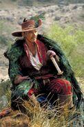 Sean Connery as Ramirez in Highlander.