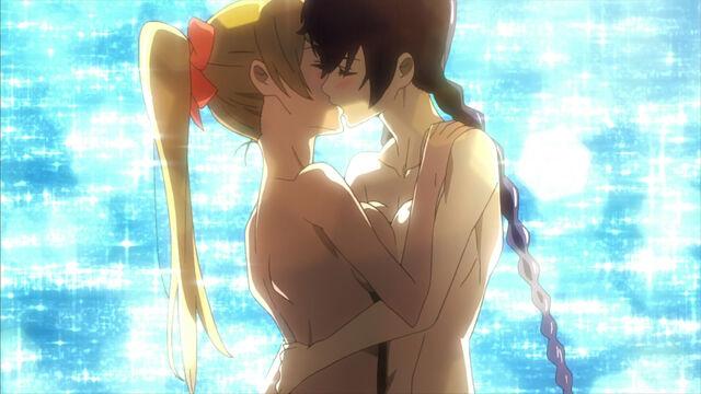 File:Rei and Saeko kiss.jpg