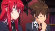 Rias Displeased with Issei HERO