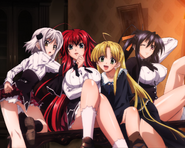 Highschool+dxd orc girls