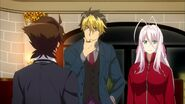 Azazel with Issei and Rossweisse