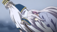 Roseweisse Crying after Being teased by Odin