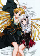 HS DxD visual collection Asia and Koneko