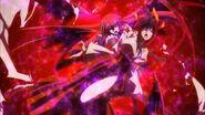 Akeno and Rias Attacked