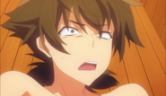 Issei Pushed Down by Rias in the Sauna