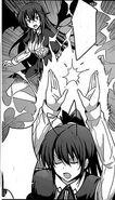 Akeno summons holy lightning