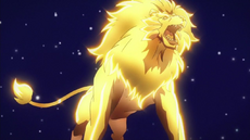 Regulus in his lion form