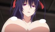 Akeno seduces Ise in EP9 of HERO