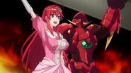 Ise and Rias at the Oppai Dragon Show