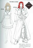 Rias's Parents concept Art by Miyama