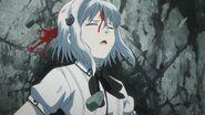Koneko bleeding after Tannin's attack