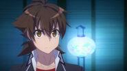 Issei looking serious HERO