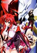 HIGH SCHOOL DXD NEW VISUAL COLLECTION the second volume sheet 07