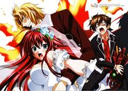 HS DxD visual collection Issei, Rias & Riser