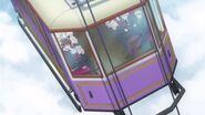 Gondolas used to travel to Agreas