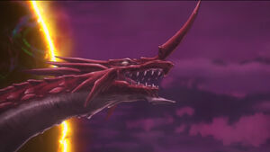 Great Red appears in DxD HERO