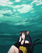 Kuroka waiting on her Team