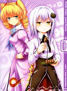 Koneko & Ravel Calendar Illustration by Hiroji Mishima