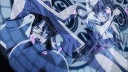 Sona and Tsubaki Magic Circle Shield