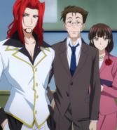 Issei's Parents and Lord Gremory