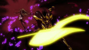 Azazel attacking Katerea