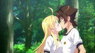 Asia & Issei Kissing HERO