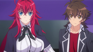 Rias & Ise standing together
