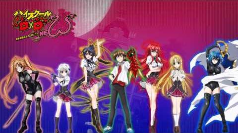 High School DxD NEW Ending 2 Full ハイスクールD×D NEW ED 2 らぶりぃ♡でびる オカルト研究部ガールズ Lovely ♡ Devil