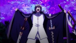 Freed reveals his Excalibur swords