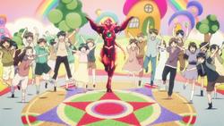 HERO Issei and Kids Oppai Dragon